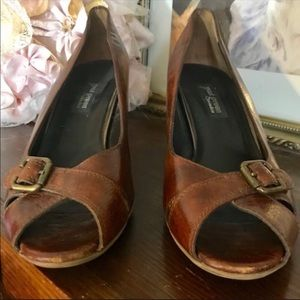 Paul Green Shoes - PAUL GREEN LEATHER PUMPS (8.5M)